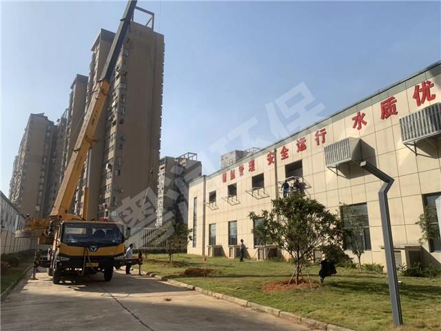 江西洪城水业股份有限公司城北水厂水泵房及过滤池必威betway工程