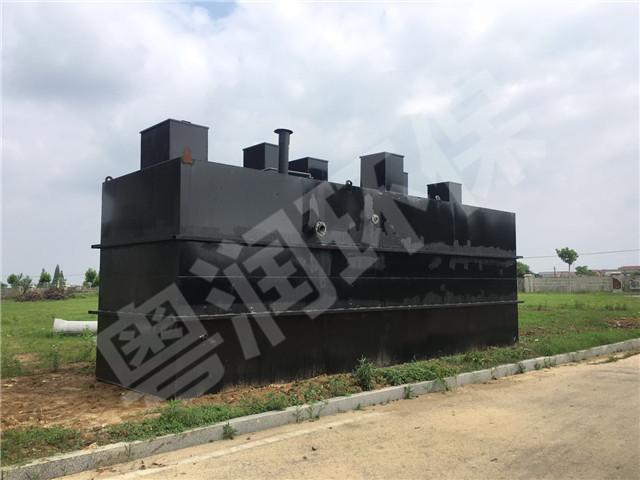 江西省体育局瑶湖水上运动中心一体化污水处理设备